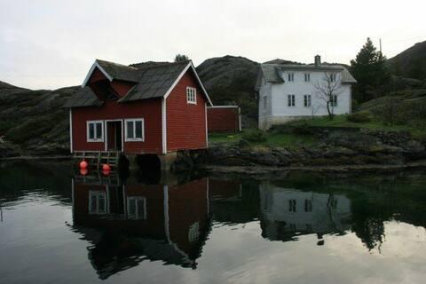 Velkommen til vårt paradis i vakre Solund.