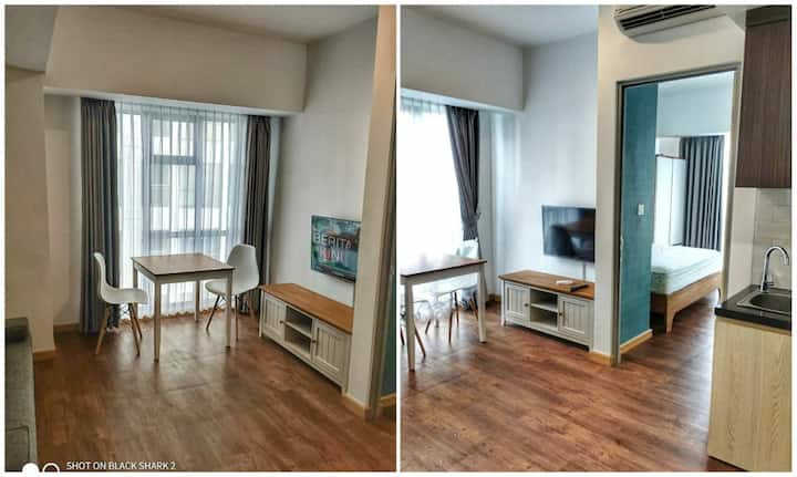 New, homey and spacious 1 BR Apt at M-Town Serpong