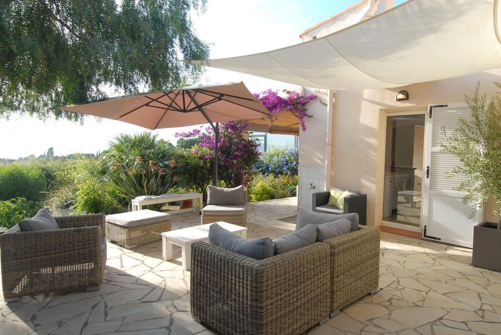 Porticcio corse villa 3 chambres avec vue sur le golfe d for Ajaccio location maison