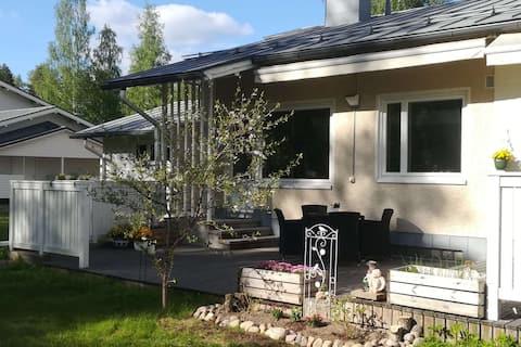 Idyllic, lovely apartment in Rauha by lake Saimaa!