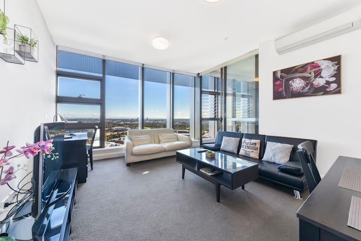 Australia Tower High level Olympic Park-Qudos ANZ