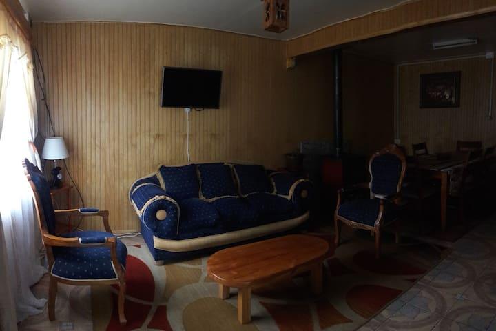 Casa en Chile chico, lugar tranquilo y acogedor