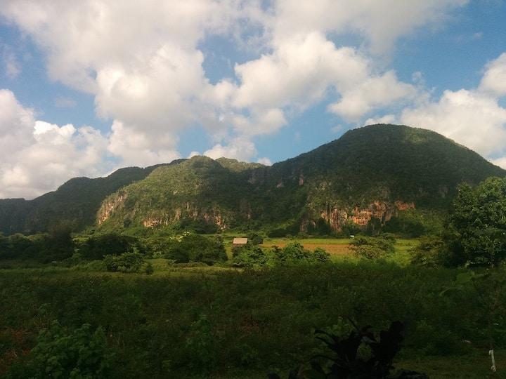 villa vista al valle