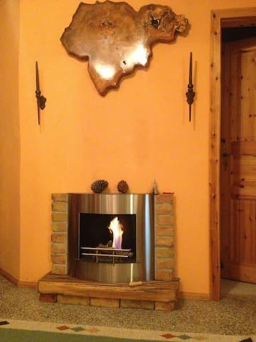 Kamin im Wohnbereich