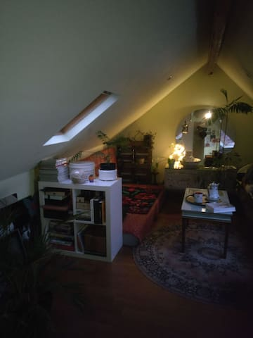 Private attic  room for one or two people