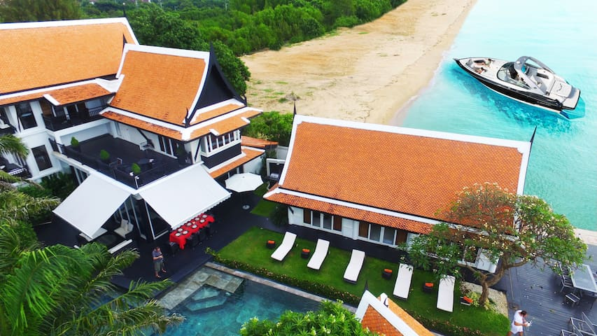 Luxury 5 Star Beach Villa 6 bed - Na Chom Thian - 別墅