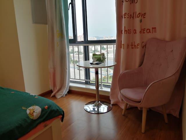 万达小清新风格独立公寓民宿