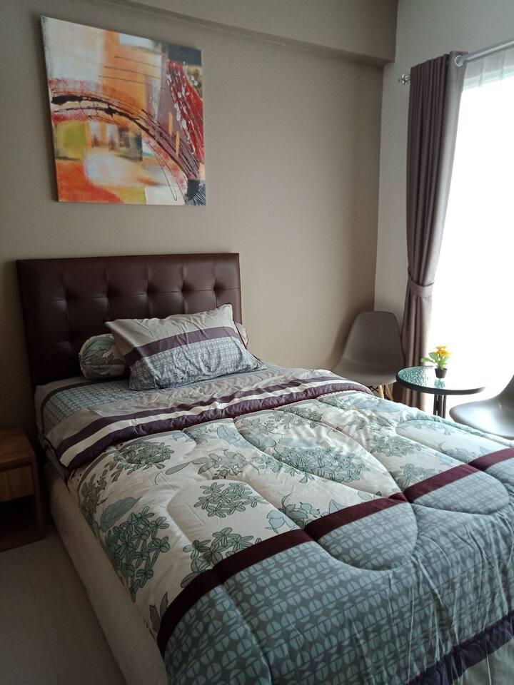 Higher Ground Apartment Bandung (brown)