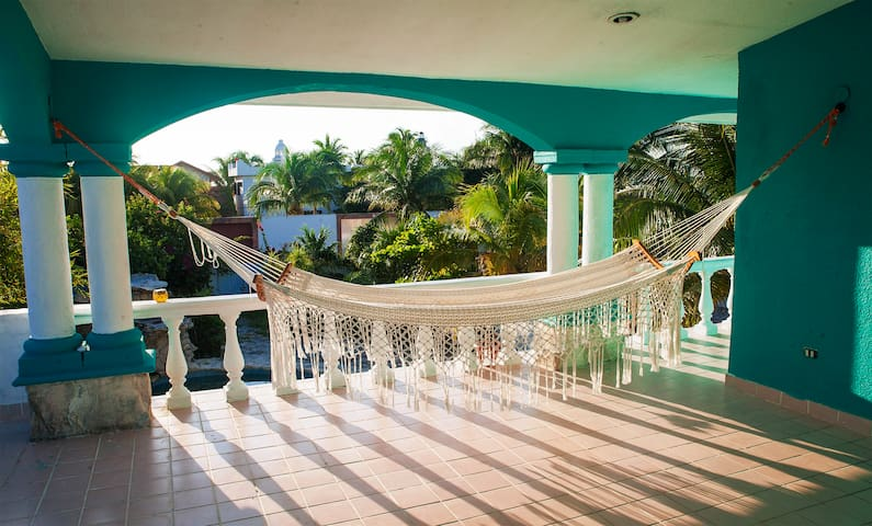 Breezy & Relaxing Private Home - Puerto Morelos - Huis