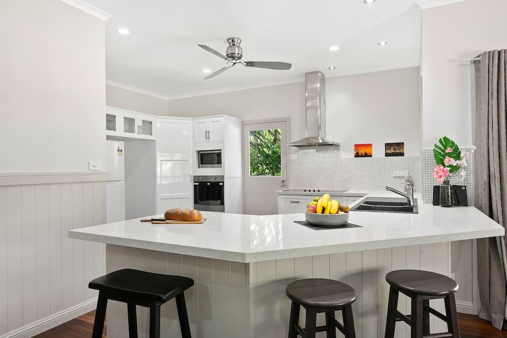 Big modern central kitchen