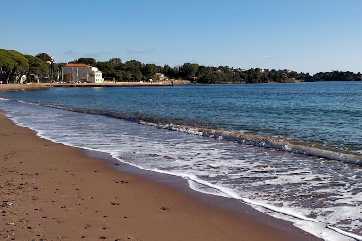 La grande plage d'Agay
