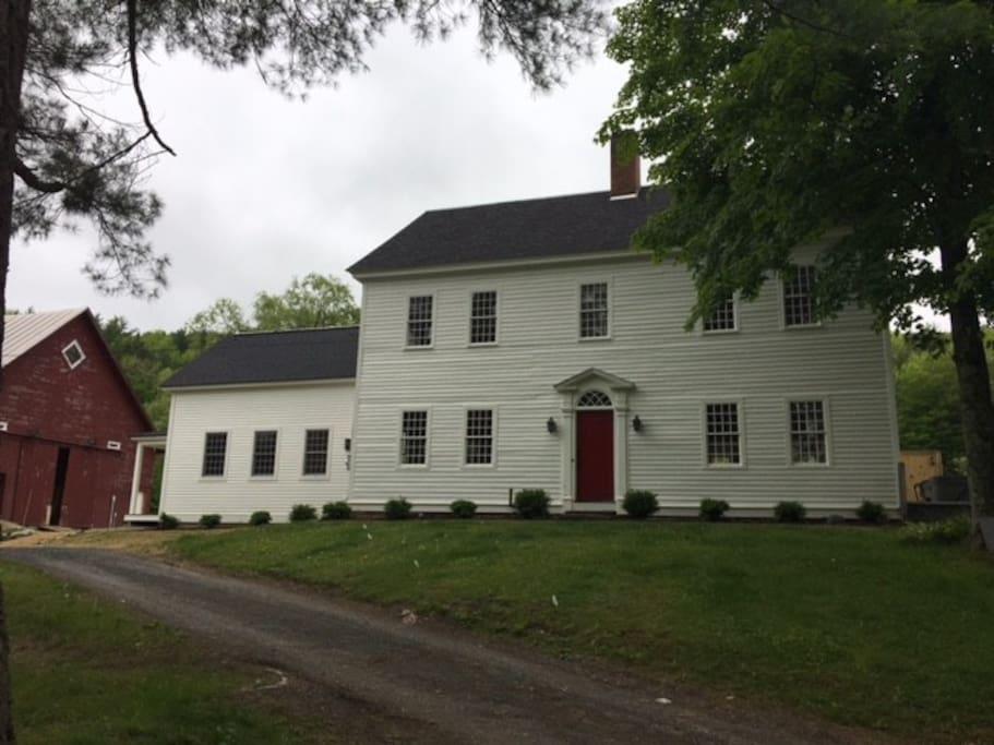 Three Pines Farm, Circa 1791