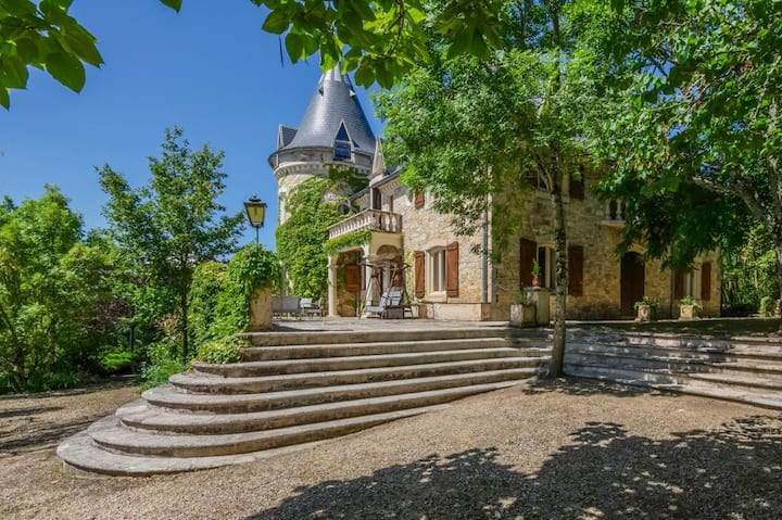 Chateau Camelot at Occitanie