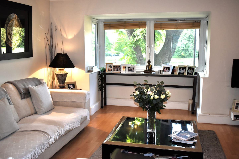 Lounge with beautiful views across Blackheath Park