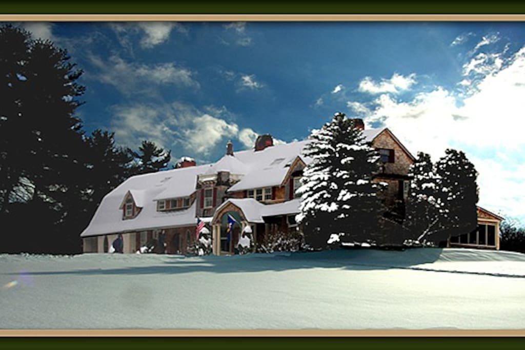 The Inn in Winter.