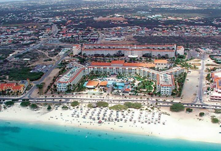 La Cabana $100per night EagleBeach  329B July22-29
