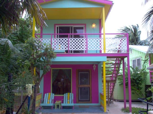 The Parrot's Perch - Caye Caulker - Cabane