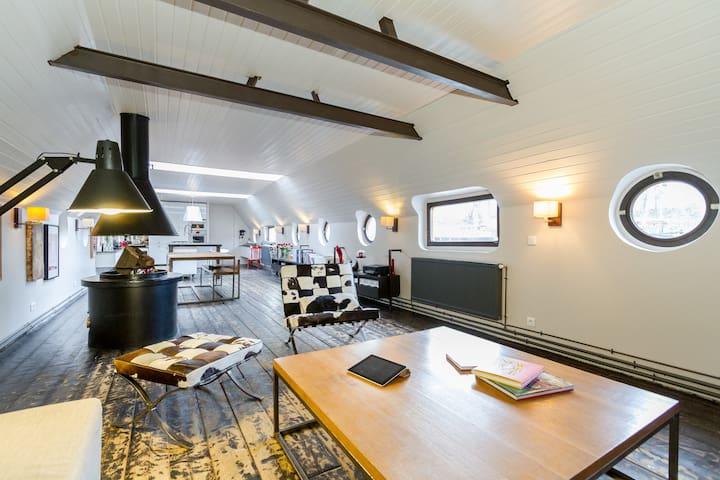 Luxurious Parisian Large loft in Paris - París - Barco