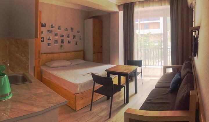 Apartment at Mgzavrebi Hotel in Gonio