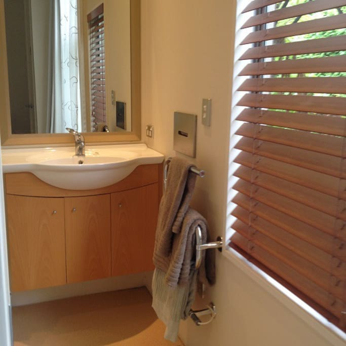 Ensuite with own shower and toilet