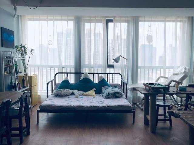 [白日梦01]二七万达最有趣的住所!尽享温柔时光!
