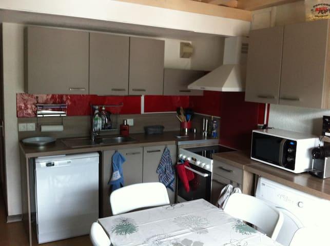 Duplex 6p. SerreChevalier à 5' pistes garage privé - Briançon - Apartament