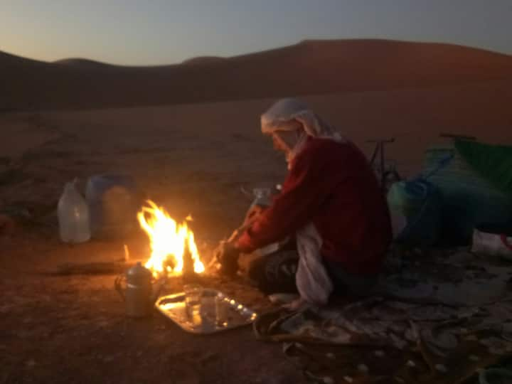 Sahara peace camp welcoming you !!!
