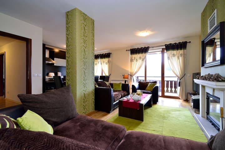 Cosy 3-bedroom top floor maisonette in PREDELA 2