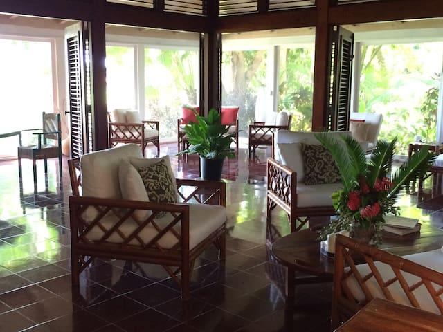 Casa de Bamboo - A Tranquil Paradise - La Romana - Huis