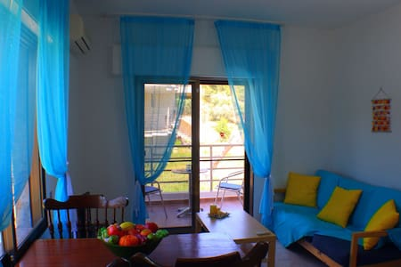 One Bedroom Apartment 50m from the beach - Salonikiou