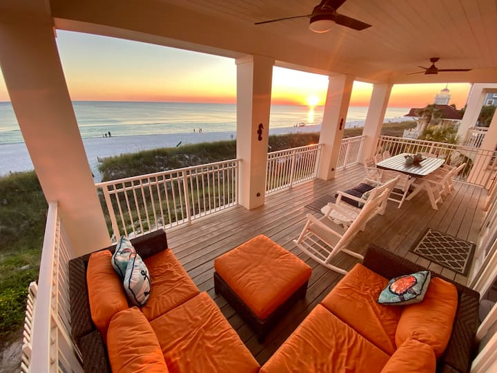 Salty Toes -  Beachfront - Private Heated Pool - Elevator
