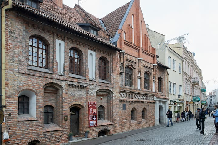One-bedroom apartment in the heart of the old town