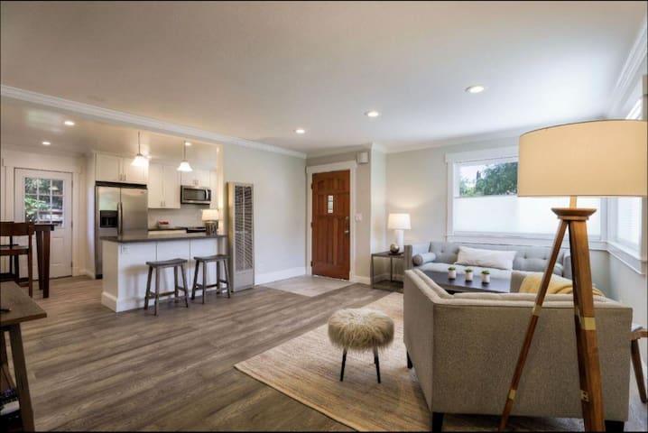 Downtown Mtn View, luxury & modern house w/ pool