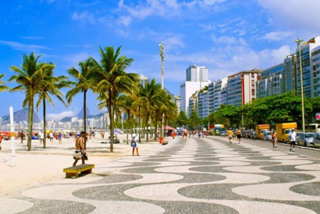 Orla de Copabana