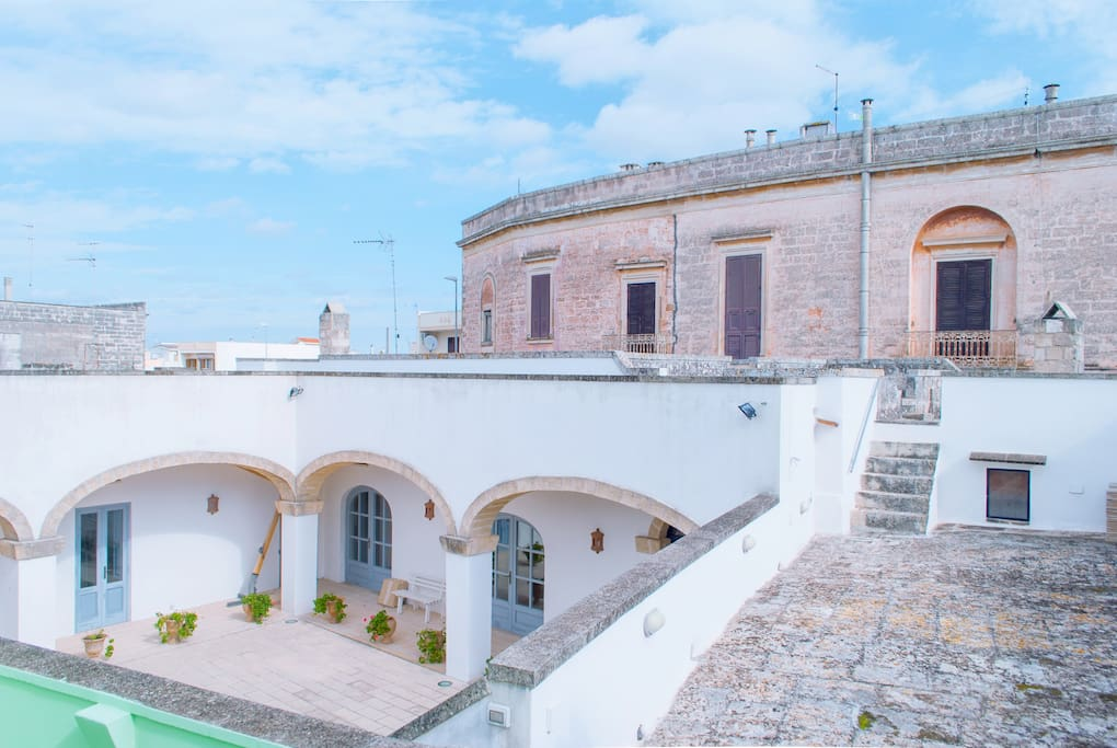 La macina del salento houses for rent in spongano for Rent a home in italy