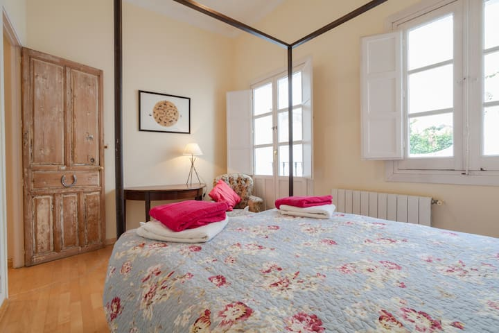 Elegant C19th century townhouse  with roof terrace