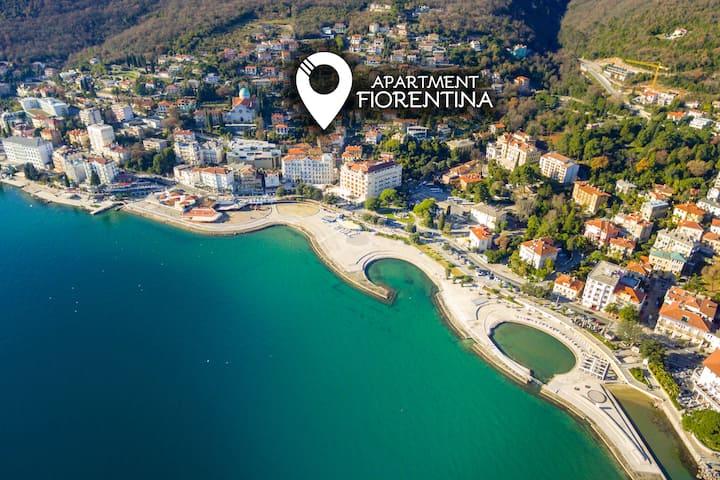 Apartment Fiorentina mit Garten - 100m zum Strand