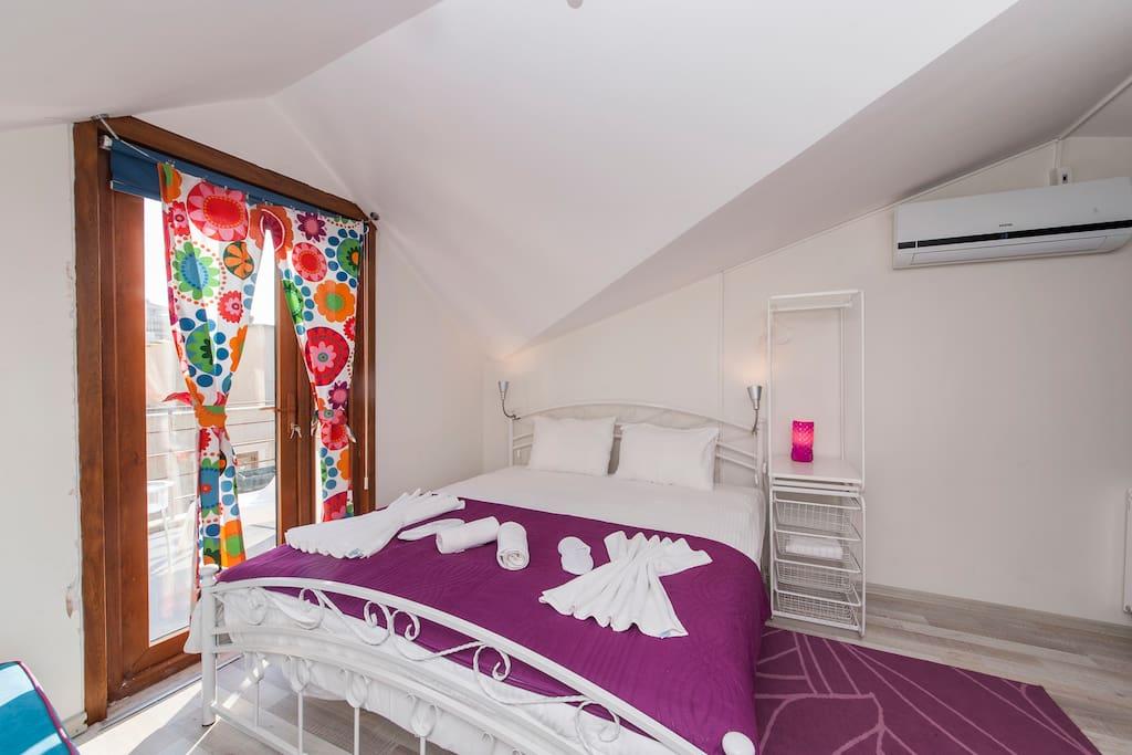 5 lovely terrace in taksim appartamenti serviti in - Il divano di istanbul ...