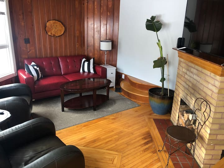 Epic king apartment near skating path and downtown