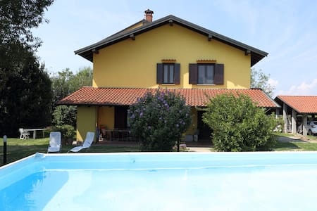 Farmhouse in nature,near Novara,Lakes and Malpensa - Fornaci