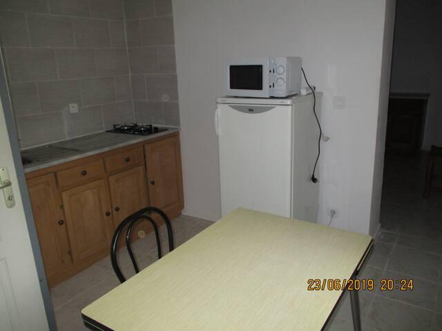 Appartement 2 pièces en pleine campagne