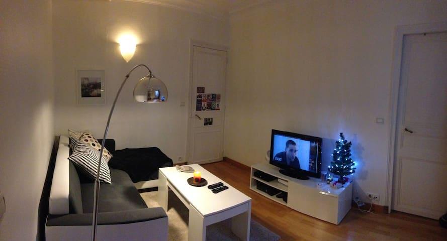Cosy 2 pièces: Paris Etoile Monceau - Paris - Apartment