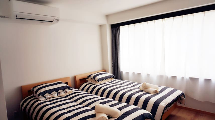 For 6 people stay~Near by Sakura River ~Waseda - Shinjuku - Apartemen