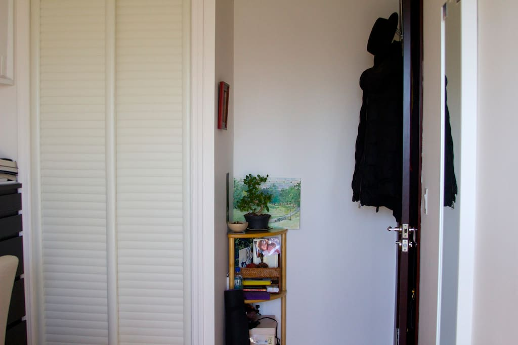 closet, will be some space for you :)