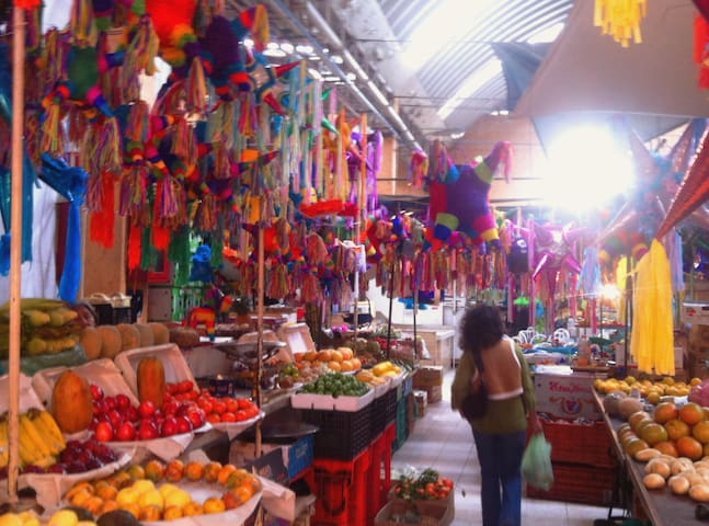 One Block away from a real Mexican Market