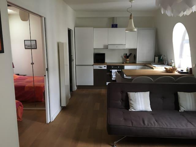 Cosy apartment at the heart of Paris - Parijs - Appartement