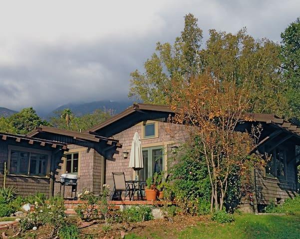 Cozy Craftsman Guest House - Altadena - Maison
