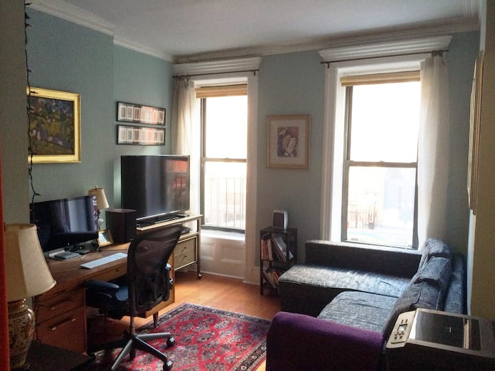 Sunny, charming 1BR in East Village