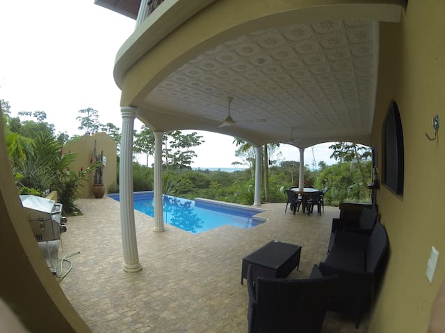 Casa Rana Verde ocean studio apt - Ojochal - Appartement