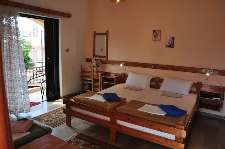 3 - 4 Person Room in Palekastro East Crete
